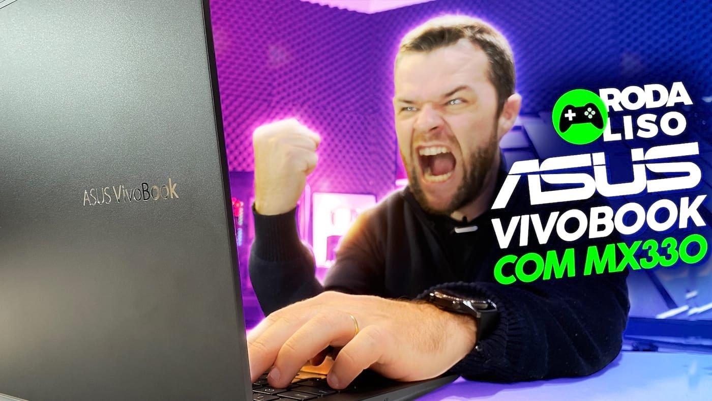 ASUS Vivobook K513E com Core I7 11ª geração é bom para jogos? - Roda Liso