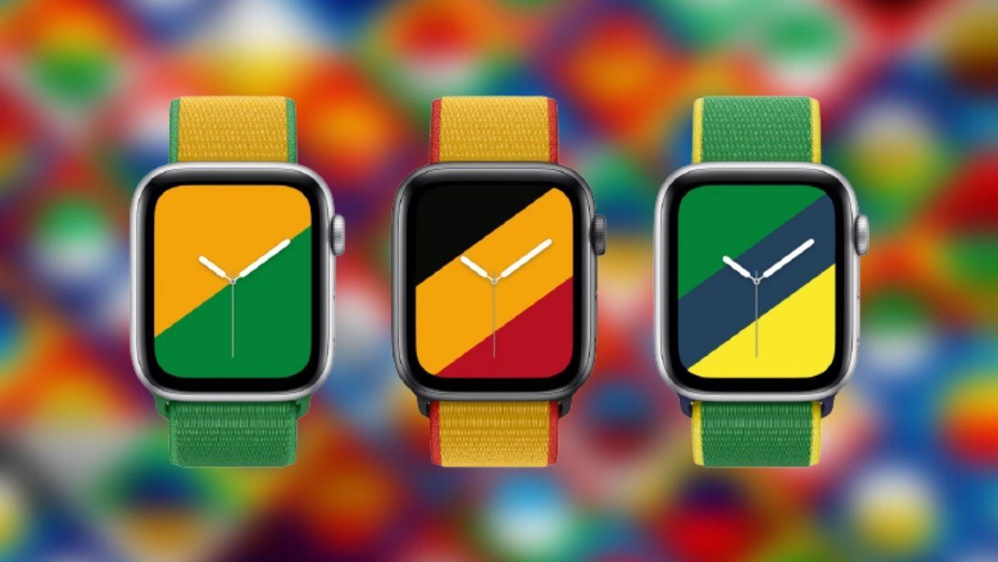 Edição limitada! Apple Watch ganha pulseiras com bandeiras de 22 países