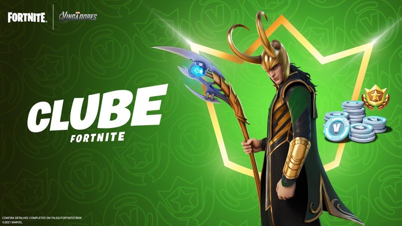 Loki está chegando ao Fortnite! Confira a skin do personagem