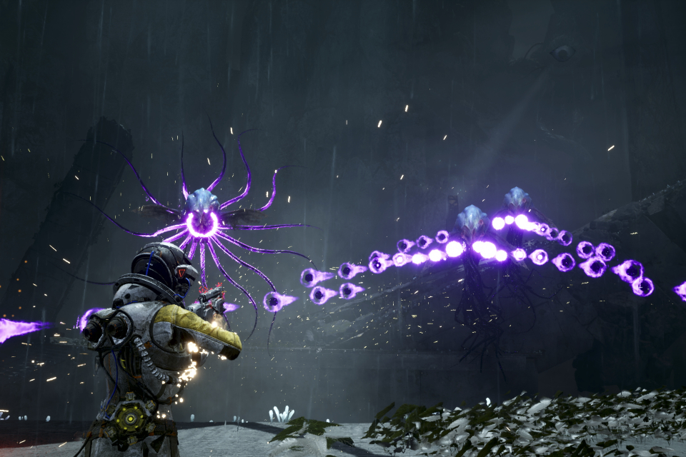Returnal ganha novos clipes de gameplay e promete ação intensa