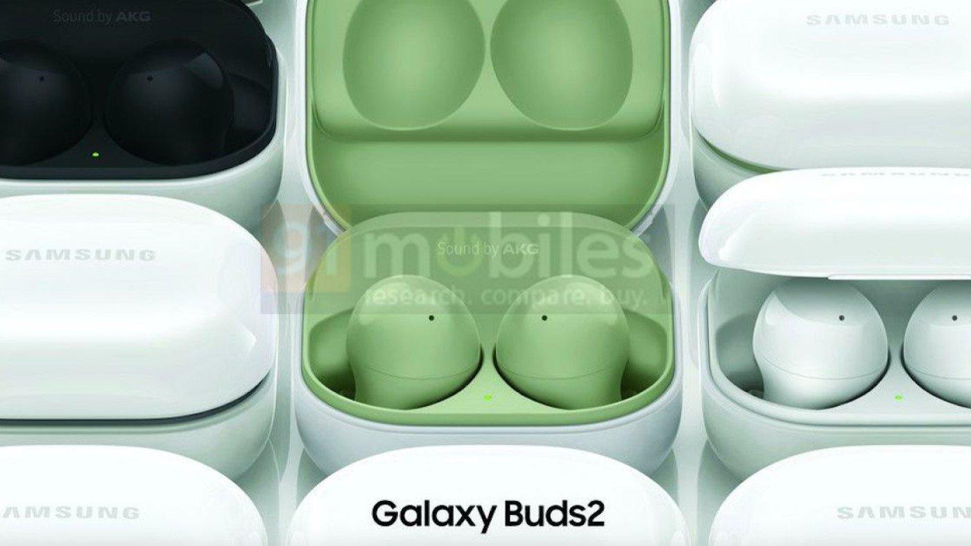 Samsung Galaxy Buds 2 tem cores reveladas em renderizações