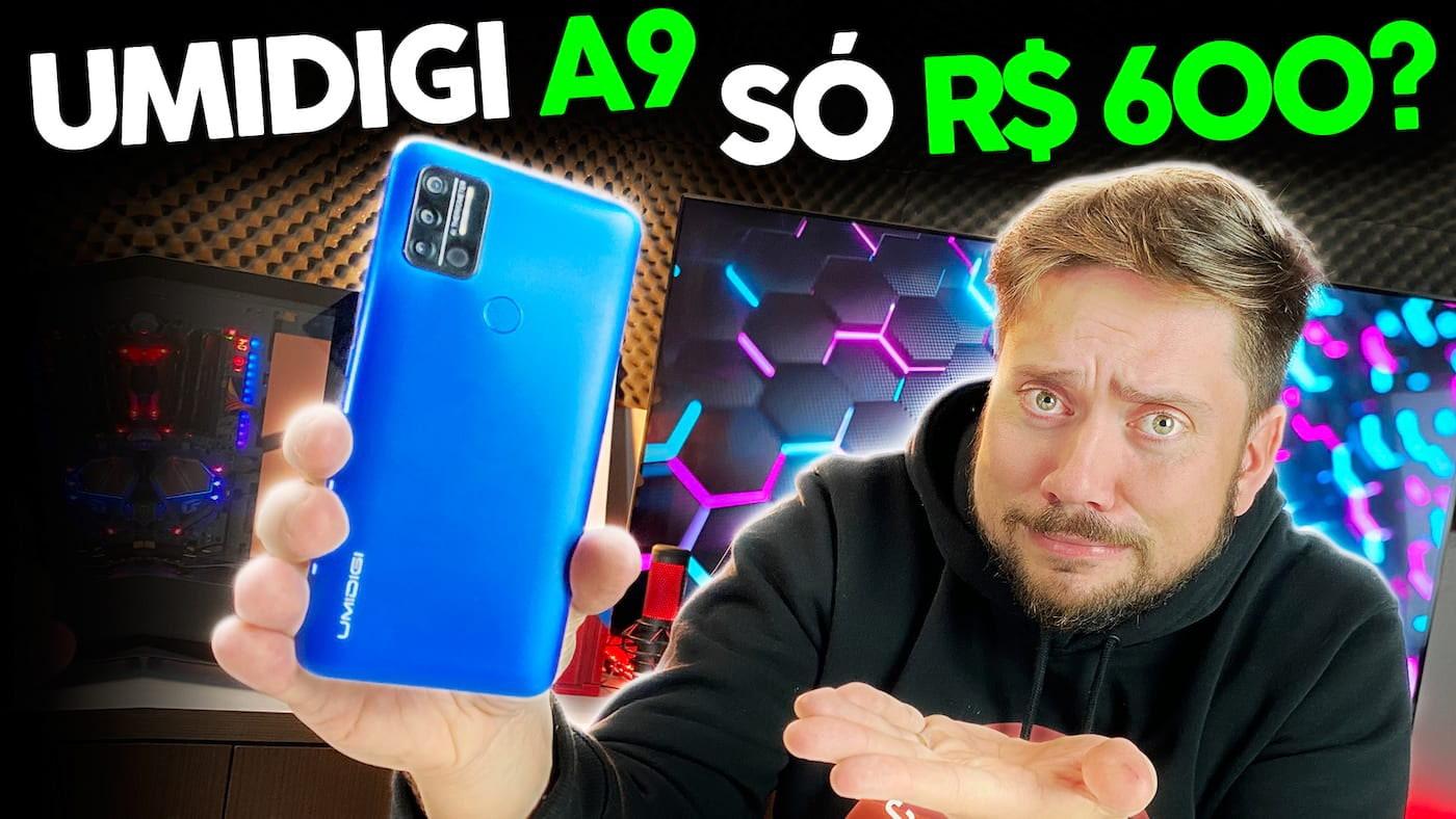 UMIDIGI A9 - Um smartphone de R$ 600 vale a pena?